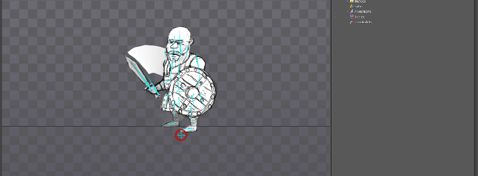 Art Style #3: First animation tests