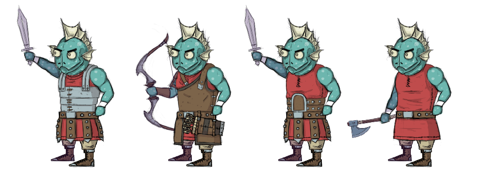 Art Style #8: Armor concepts