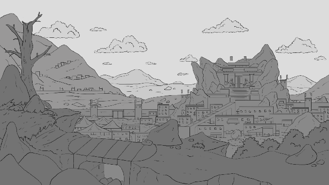 Mountain city 2